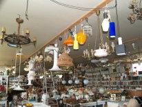 Gamle lysekroner til salg
