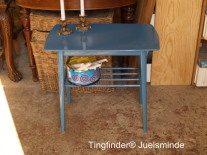TINGFINDER® BRUGTE GAMLE STOLE BORDE SPISEBORD PINDESTOL RETRO ...